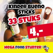 kinder bueno sticks