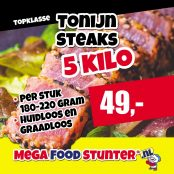 tonijn steaks