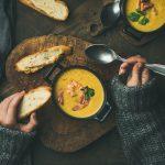 Gele bieten groentesoep MegaFoodStunter