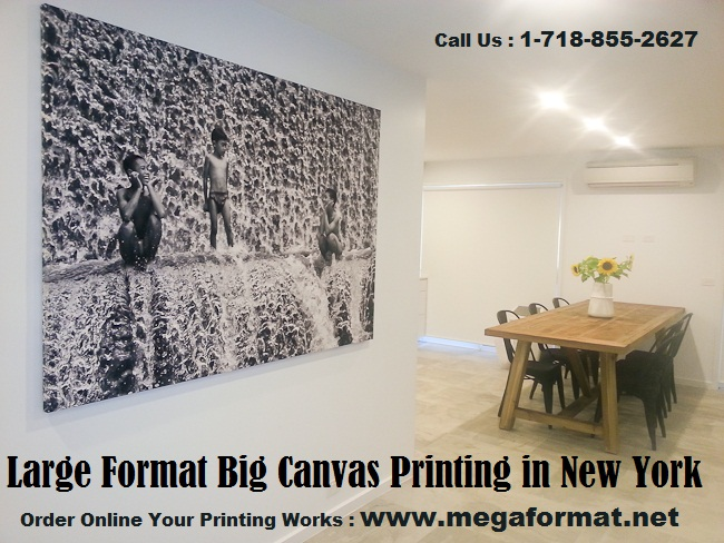 large format big canvas