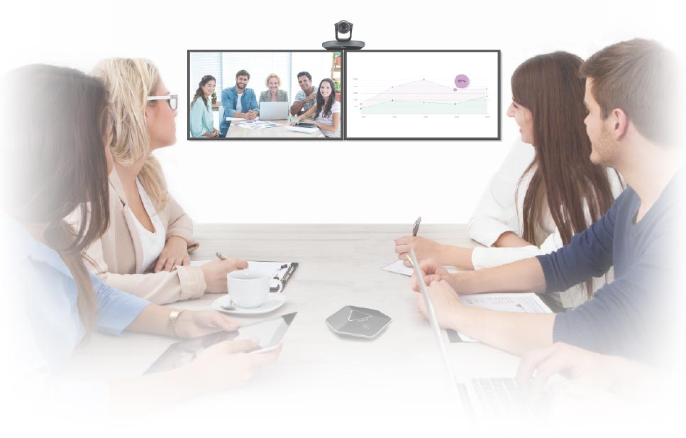 yealink vc110 video conferencing room