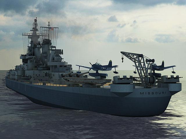 3d Animation Wallpaper For Android Mobile S Battleship Missouri 3d Screensaver Megagames