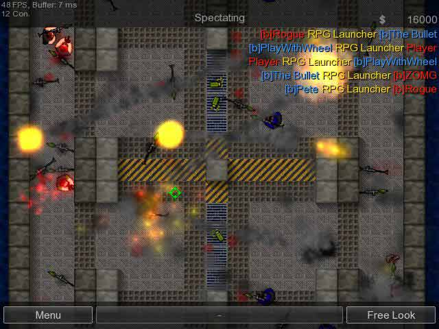 Freeware Freegame Counter Strike 2D Beta 0118 Free