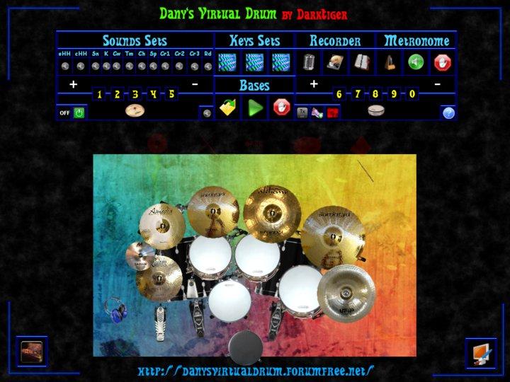 Freeware Freegame Danys Virtual Drum 2 Beta 2 Free