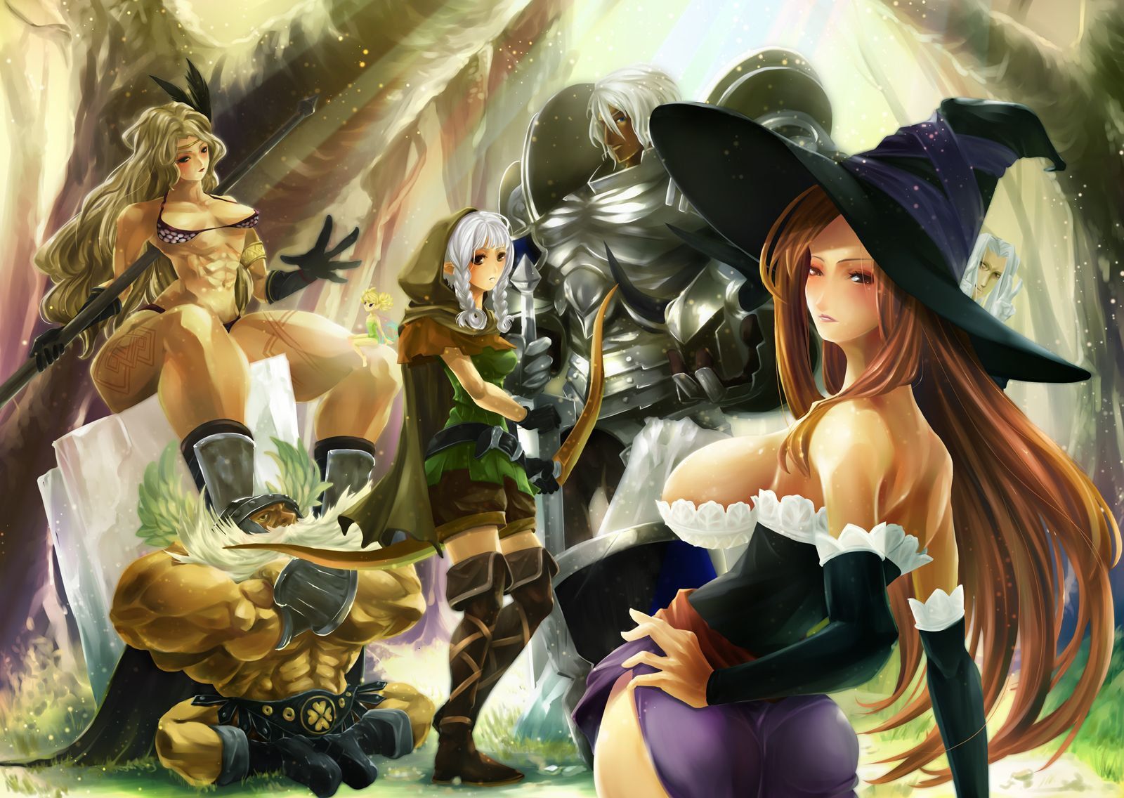 3d 4k Amazon Women Wallpaper News Gearbox Designer Disses Dragon S Crown Sorceress
