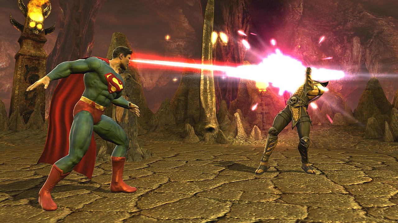 Games Mortal Kombat Vs DC Universe MegaGames
