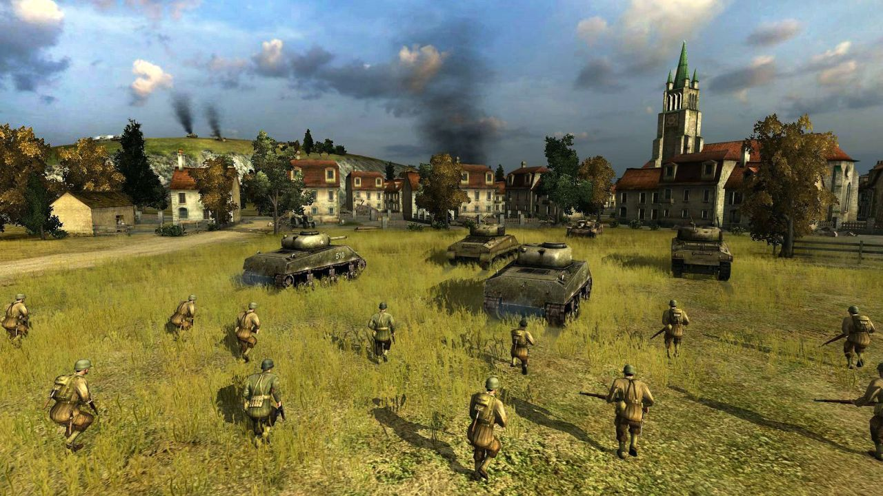News Square Enix Working On New Western WWII RTS Game