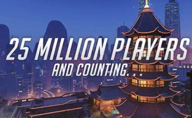 News Overwatch Now Has Over 25 Million Players Megagames