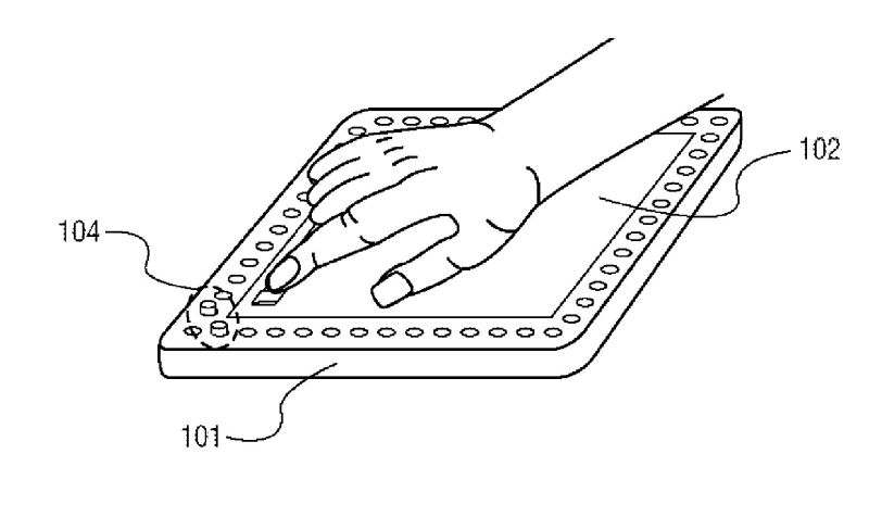 News: Sony Patents Handheld With 'Digital Tactile Pixels
