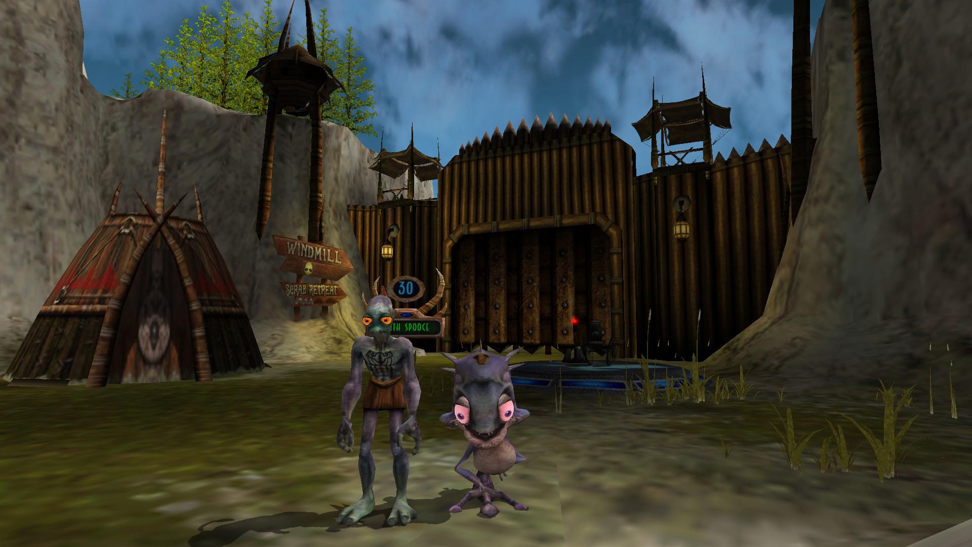 Games Oddworld Munchs Oddysee MegaGames