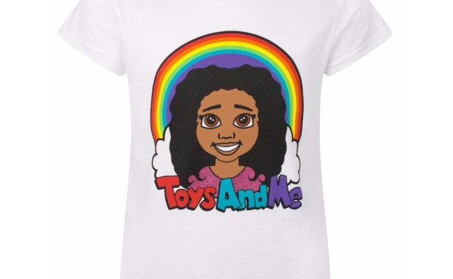 Tiana Toys And Me Childrens Girls Official Logo T Shirt Ebay