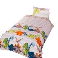 Dinosaur Childrens/Boys Duvet Cover Bedding Set