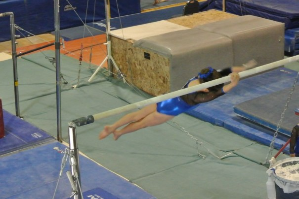 Judges' Cup 2011 Bars Half Turn Dismount - Level 5