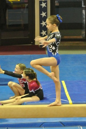 Judges' Cup 2011 Beam Balance Move - Level 5