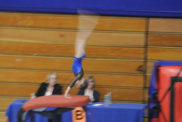 BSU Open 2012 Vault Handstand - Level 5