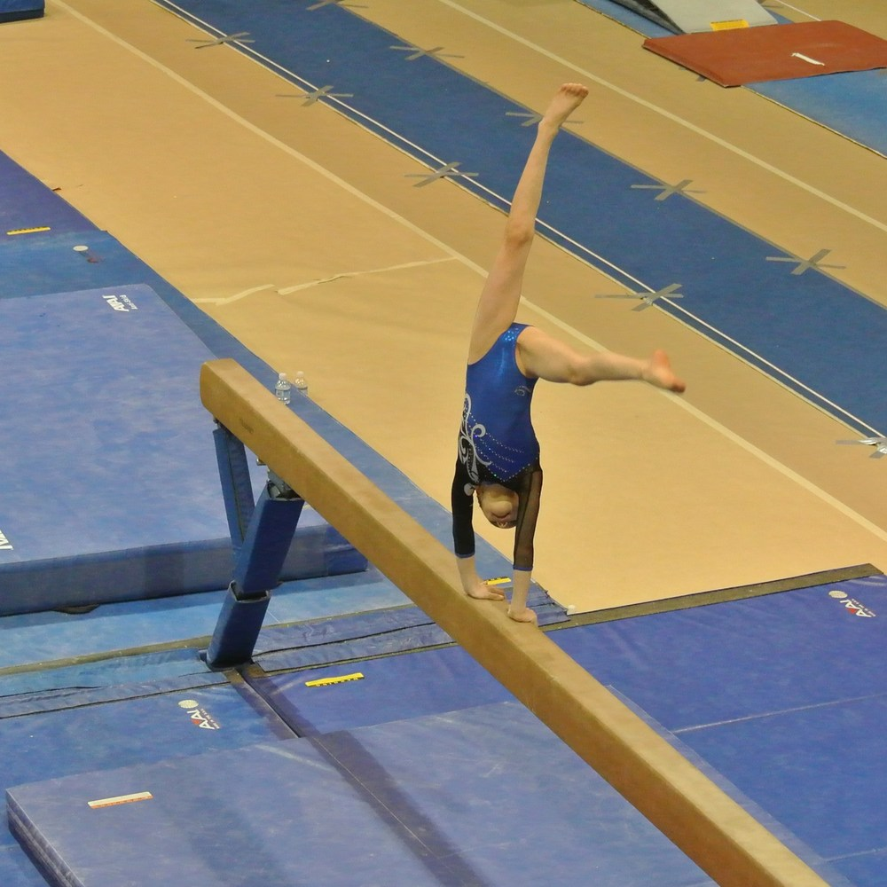Pot of Gold Invitational 2012 Beam Cartwheel - Level 5