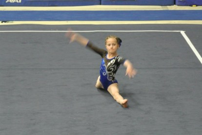 Idaho State Championships 2012 Floor Splits - Level 5