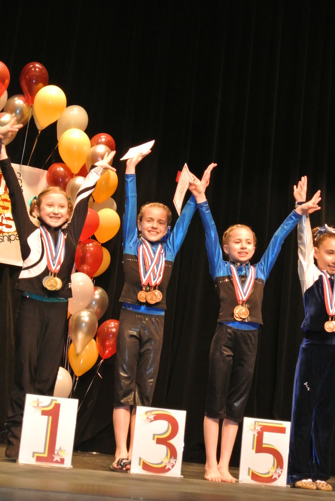 Idaho State Championships 2012 All-Around Awards - Fifth - Level 5