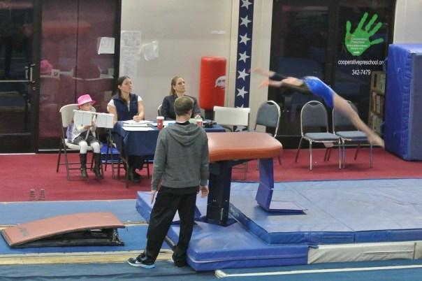 Judges' Cup 2012 Vault Handstand - Level 6
