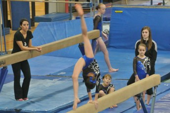 Judges' Cup 2012 Beam Back Walkover - Level 6