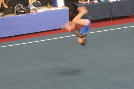 Judges' Cup 2012 Floor Back Tuck - Level 6