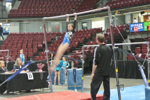 Queen of Hearts Invitational Bars Swing - Level 6