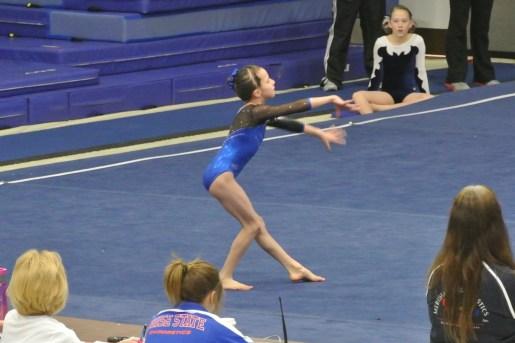 BSU Open 2013 Floor Dance Pose - Level 6