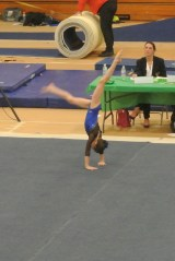 Pot of Gold Invitational 2013 Floor Handstand - Level 6