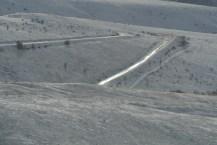 Hairpin Turn on the Old Whitebird Hill Highway