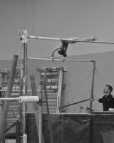 Intrasquad Meet 2013 Bars - Level 7 - This is what falling out of a giant look like...