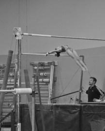 Intrasquad Meet 2013 Bars - Level 7 - I'm falling...