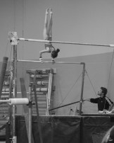 Intrasquad Meet 2013 Bars - Level 7 - Much better positioning to go into her first giant