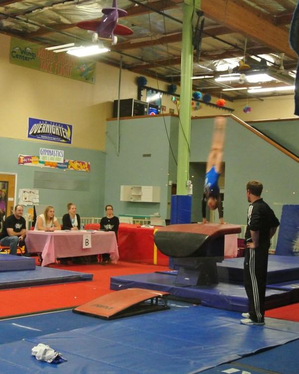 Teddy Bear Classic 2013 Vault Handstand - Level 7