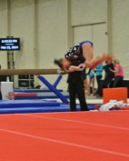 Queen of Hearts Invitational 2014 Floor Front Tuck - Level 7