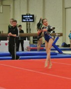 Queen of Hearts Invitational 2014 Floor Dance Move - Level 7