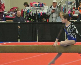 Queen of Hearts Invitational 2014 Beam Mount - Level 7