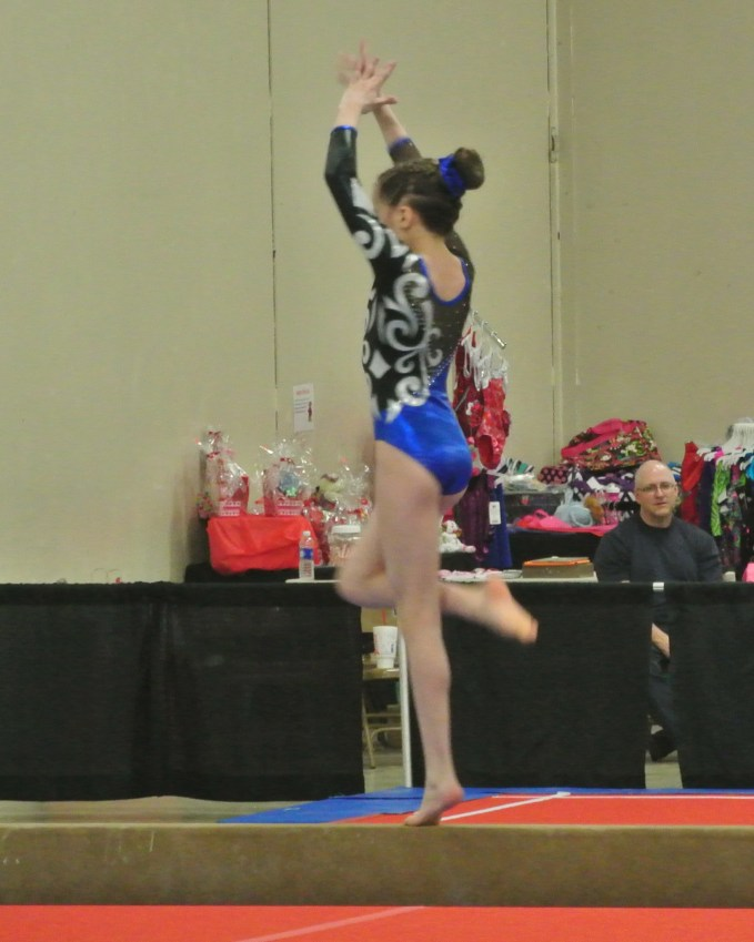Queen of Hearts Invitational 2014 Beam Turn - Level 7