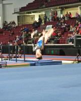 Idaho State Championships 2014 Floor Back Layout - Level 7
