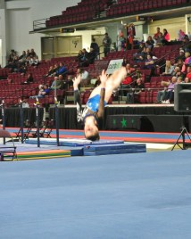 Idaho State Championships 2014 Floor Back Layout - Level 7