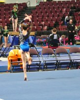 Idaho State Championships 2014 Floor Turn - Level 7