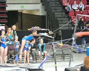Idaho State Championships 2014 Bars Mount - Level 7