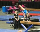 Idaho State Championships Beam Cartwheel Finish- Level 7