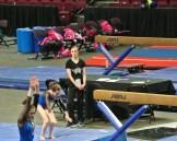 Idaho State Championships Beam Dismount Landing - Level 7