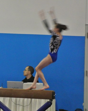 Rose City Challenge 2014 Beam Dismount - Level 7