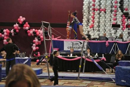 Flips Invitational 2015 Bars Squat-On - Level 7