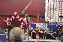 Flips Invitational 2015 Bars Free Hip Circle to Handstand - Level 7