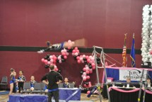 Flips Invitational 2015 Bars Dismount Layout Flyaway - Level 7