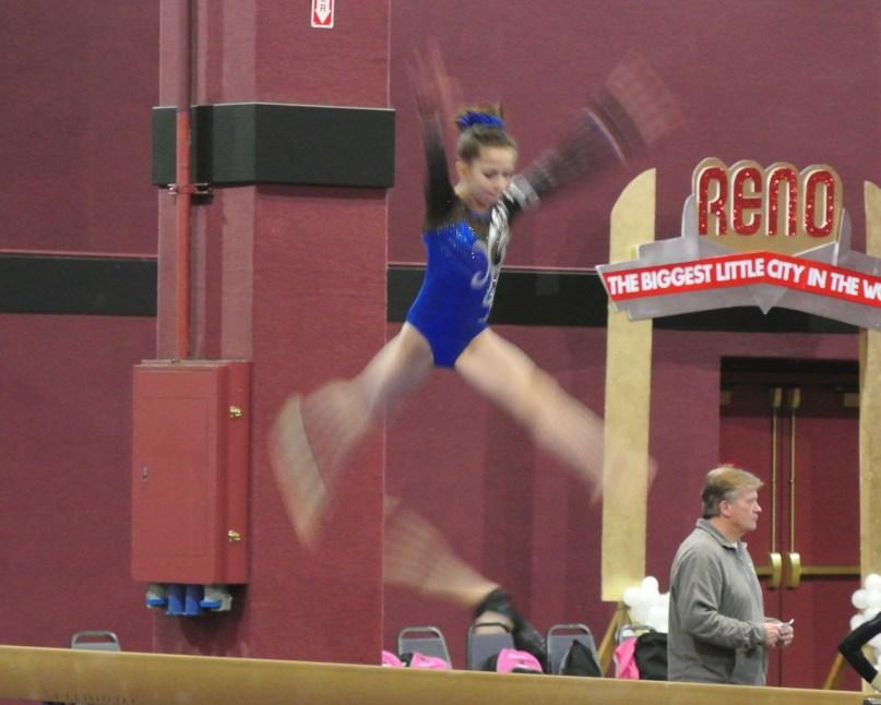 Flips Invitational 2015 Beam Leap Series - Level 7