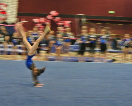 Flips Invitational 2015 Floor Front Handspring - Level 7