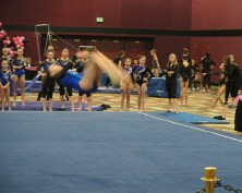Flips Invitational 2015 Floor Front Tuck - Level 7
